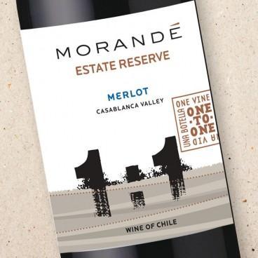 Morandé One To One Merlot Estate Reserve