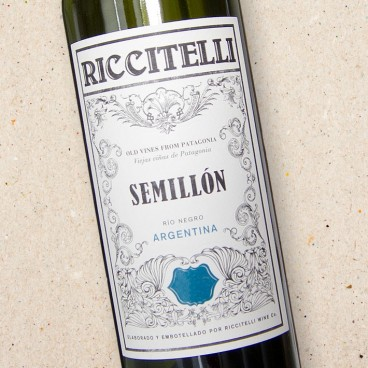 Riccitelli Old Vines From Patagonia Semillon