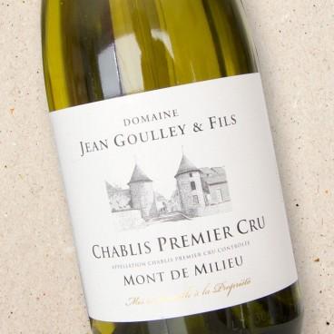 Domaine Jean Goulley Chablis 1er Cru Mont de Milieu
