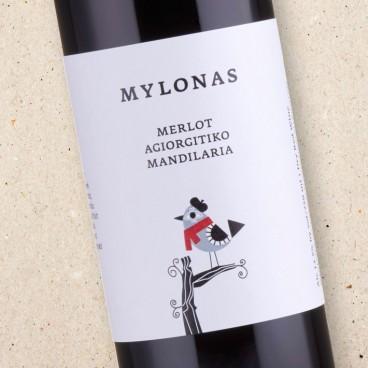 Mylonas Merlot-Agiorgitiko-Mandilaria Red