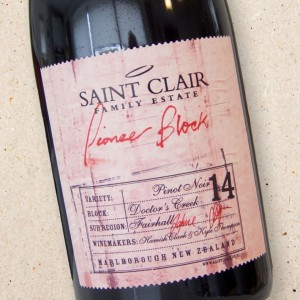 Saint Clair Block 14 'Doctors Creek' Pinot Noir