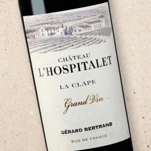Gérard Bertrand Château l'Hospitalet Grand Vin Rouge La Clape
