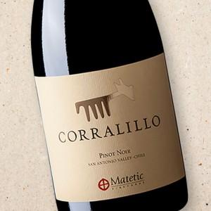 Corralillo Pinot Noir, Matetic Vineyards 2018