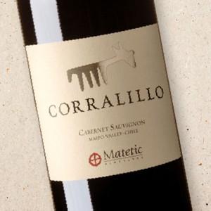 Corralillo Cabernet Sauvignon, Matetic Vineyards 2016