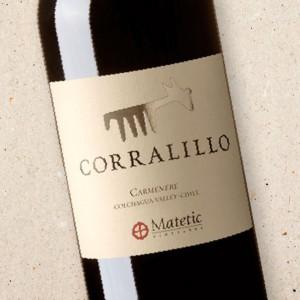 Corralillo Carmenère, Matetic Vineyards