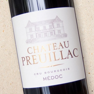 Château Preuillac Médoc Cru Bourgeois