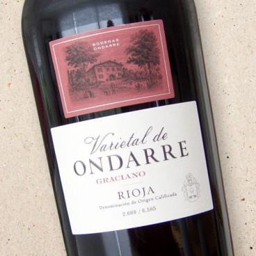 Rioja Graciano Bodegas Ondarre