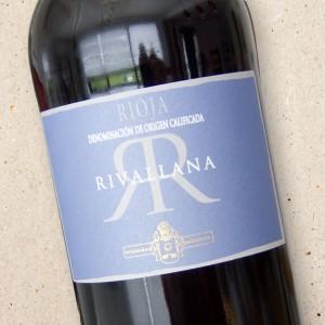 Rioja Rivallana Tinto Bodegas Ondarre