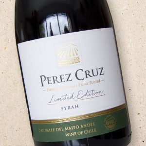 Perez Cruz Syrah Reserva Limited Edition