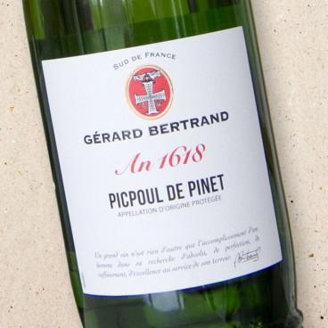 Gerard Bertrand Heritage 'An 1618' Picpoul de Pinet