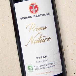 Gerard Bertrand Prima Nature Syrah