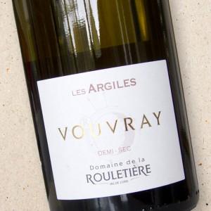 Domaine de la Rouletière Les Argiles Vouvray Demi-Sec 2019