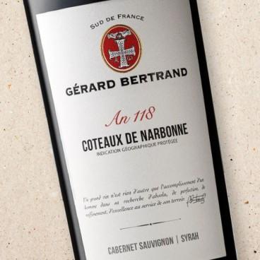 Gérard Bertrand 'Héritage An 118' Coteaux de Narbonne Rouge