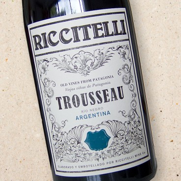 Riccitelli Old Vines From Patagonia Trousseau