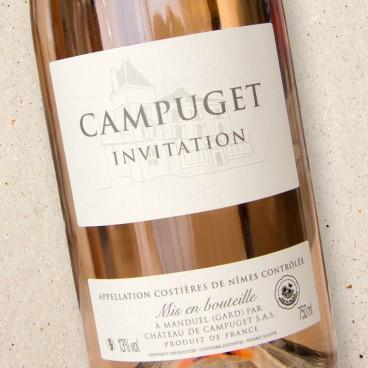 Campuget 'Invitation' Rosé