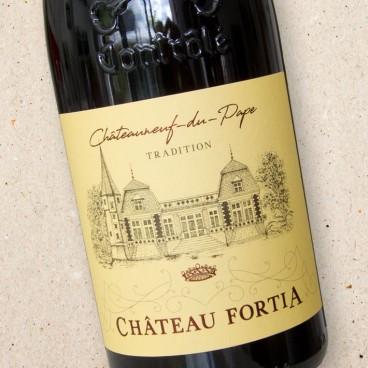 Château Fortia Châteauneuf du Pape Rouge Tradition
