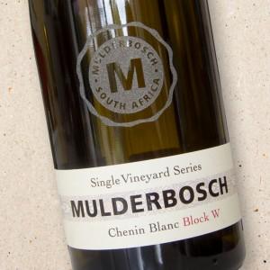 Mulderbosch Single Vineyard Chenin Blanc Block W