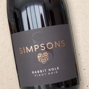 Simpsons 'Rabbit Hole' Pinot Noir 2020