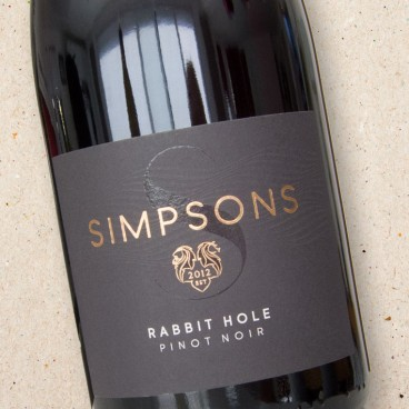 Simpsons 'Rabbit Hole' Pinot Noir