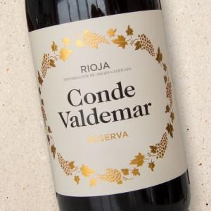Bodegas Valdemar Conde Valdemar Rioja Reserva 2012