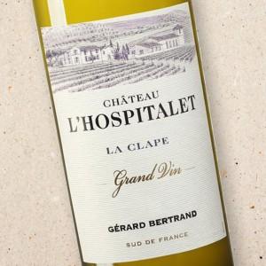 Château l'Hospitalet Grand Vin Blanc, La Clape, Gérard Bertrand 2018