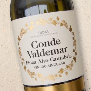 Conde Valdemar Rioja Blanco Finca Alto Cantabria 2019