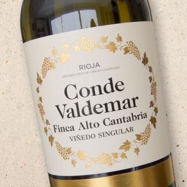 Conde Valdemar Rioja Blanco Finca Alto Cantabria
