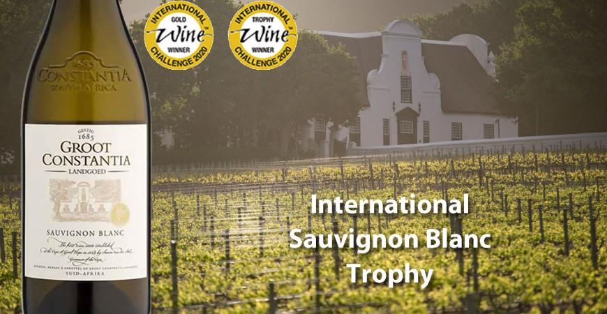 International Sauvignon Blanc Trophy for Groot Constantia