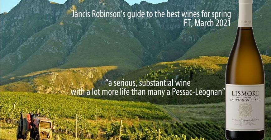 A serious substantial Sauvignon Blanc says Jancis Robinson